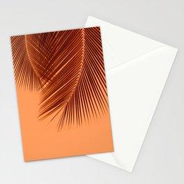 Delicate palms - sunburnt Stationery Cards