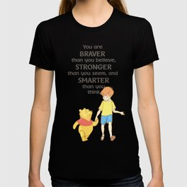Christopher and Pooh Bear T-shirt