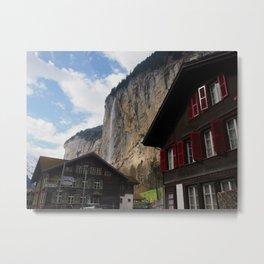 Lauterbrunnen, Switzerland Metal Print