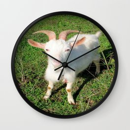 Billy 'The Goat' Wall Clock