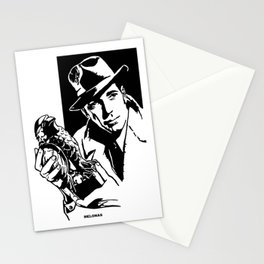 The Maltese Falcon by Peter Melonas Stationery Cards