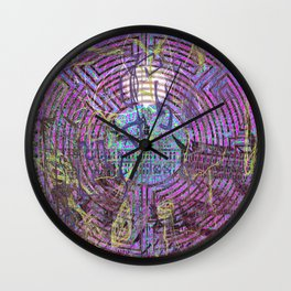 That Worm Is Trying To Kill Me! Wall Clock
