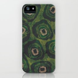 Peacock Geodes iPhone Case