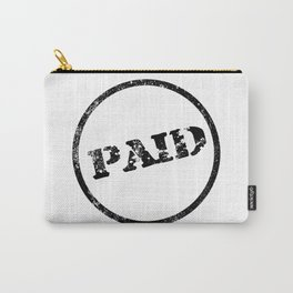 Paid Stamp Carry-All Pouch