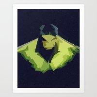 hulk Art Prints featuring Hulk by Javier Martinez