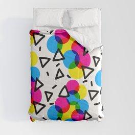 CMYK Confetti Comforters