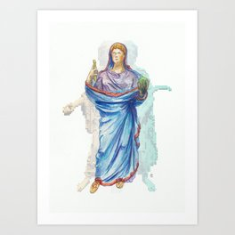 Faustina The Younger & Personifications Art Print