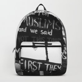 women's march philly Backpack