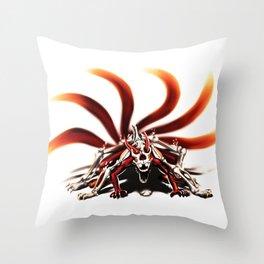 mode kyuubi Throw Pillow