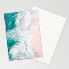 Pink Sand Beach Stationery Cards