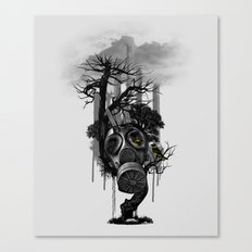 DIRTY WEATHER Canvas Print
