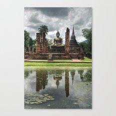 Buddha - Sukhothai - Thailand Canvas Print