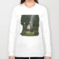 princess mononoke Long Sleeve T-shirts featuring Princess Mononoke by ketizoloto