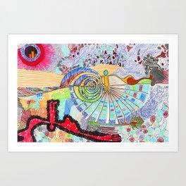 Doodlebug Art Print