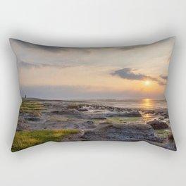 Sunset at Moddergat national park! Rectangular Pillow