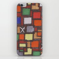 knit iPhone & iPod Skins featuring knit by colli13designs
