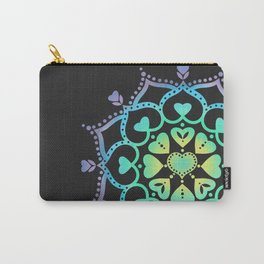 Universal Love Mandala Carry-All Pouch