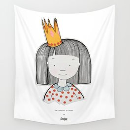 The sweetest princess Wall Tapestry