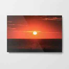 Californian Sunset Metal Print