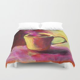 Coffee Cup Study No. 1 Duvet Cover