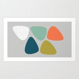 MCM Lozenge Art Print
