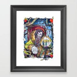 The Hatter Framed Art Print