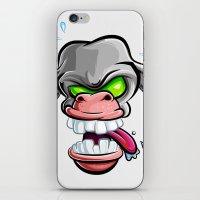 donkey iPhone & iPod Skins featuring Donkey by Keyspice