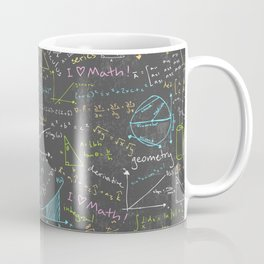 Math Lessons Coffee Mug