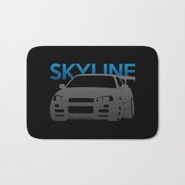 Nissan Skyline GT-R  Bath Mat