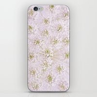 lace iPhone & iPod Skins featuring Lace by Jacky Parker Floral Art