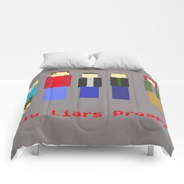 An Arcade Classic - Only Liars Prosper Comforters
