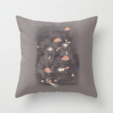 Neighborhood Watch (At Dawn) Throw Pillow