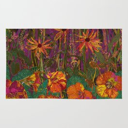 You Can Get By (Autumn Flowers) Rug