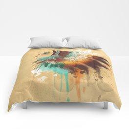 Native American Girl Comforters