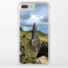 The neede of Storr Clear iPhone Case