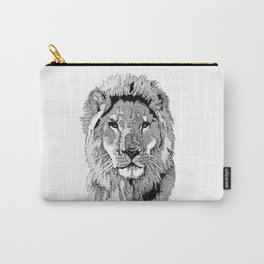 Animal Prints - Proud Lion - By Sharon Cummings Carry-All Pouch