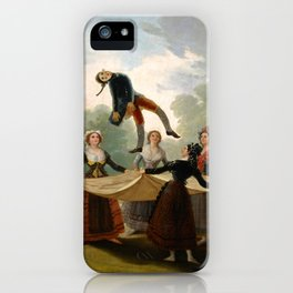 "Francisco Goya ""The Straw Manikin - The puppet"" iPhone Case"