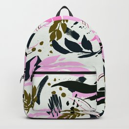 Modern abstract nature II Backpack