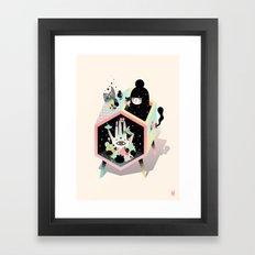 Mystery Garden Framed Art Print