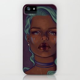 Steely eyes iPhone Case