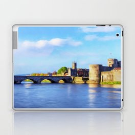 King Johns Castle and Thomond Bridge Laptop & iPad Skin