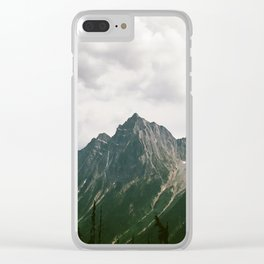 LIVE WILDLY Clear iPhone Case