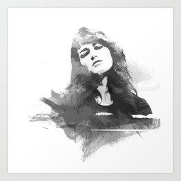 Martha Argerich Art Print