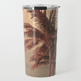 Retro Palm Tree Travel Mug