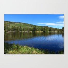 Blue Tones of Sprague Lake Canvas Print