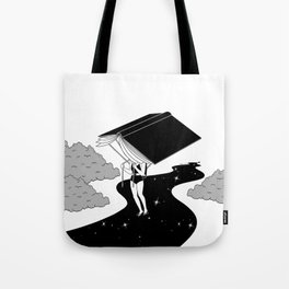Reading saves lives Tote Bag
