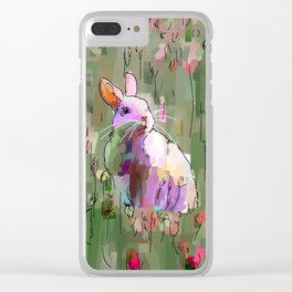 The hare and the fox Clear iPhone Case