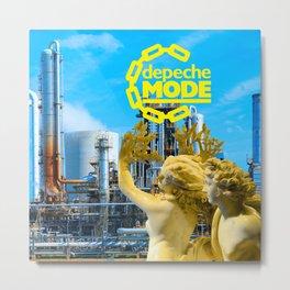 Concept Album Cover Tribute For DM. Metal Print