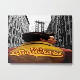 Wanderers Member Jacket Metal Print