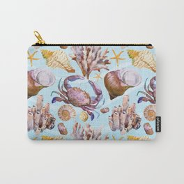 Marine Pattern 14 Carry-All Pouch